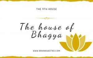 The 9th house - House of Bhagya